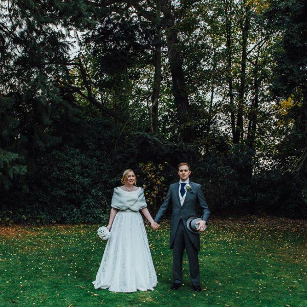 Gerard & Anne wedding photography at Woodside, Kenilworth