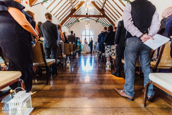 Mark & Janine's Nuthurst Grange Wedding Photographer