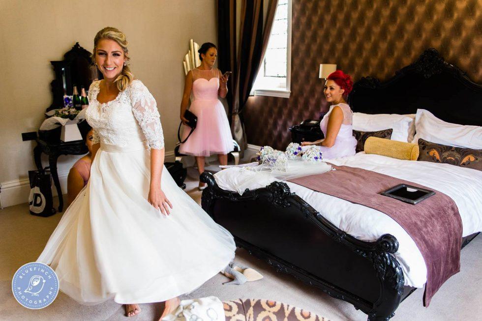 Drew & Gemma's wedding photography Birmingham at Moxhull Hall