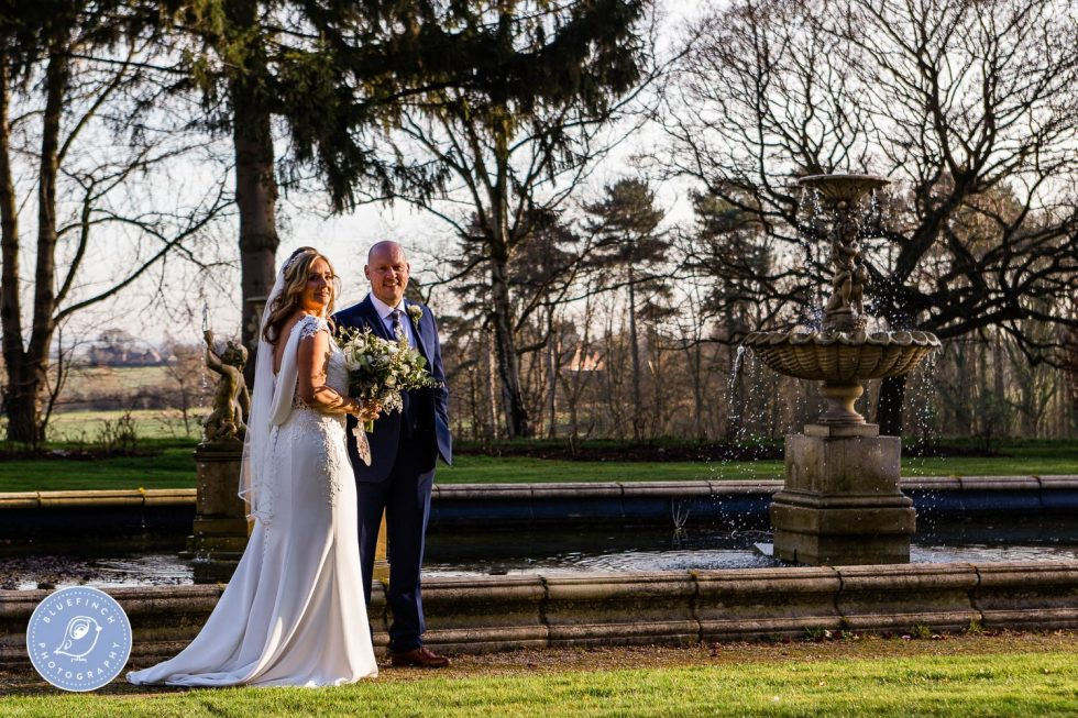 Ewen & Julie's wedding photography at Moxhull Hall