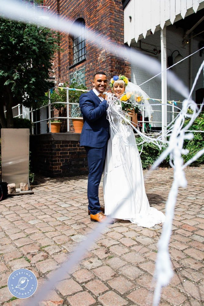 Joe & Sarah's Wedding Photography at The Bond Digbeth