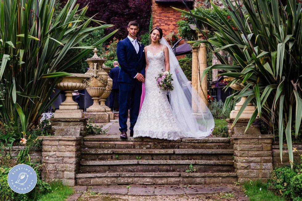Sam & Rebecca's wedding photography Birmingham at Moxhull Hall