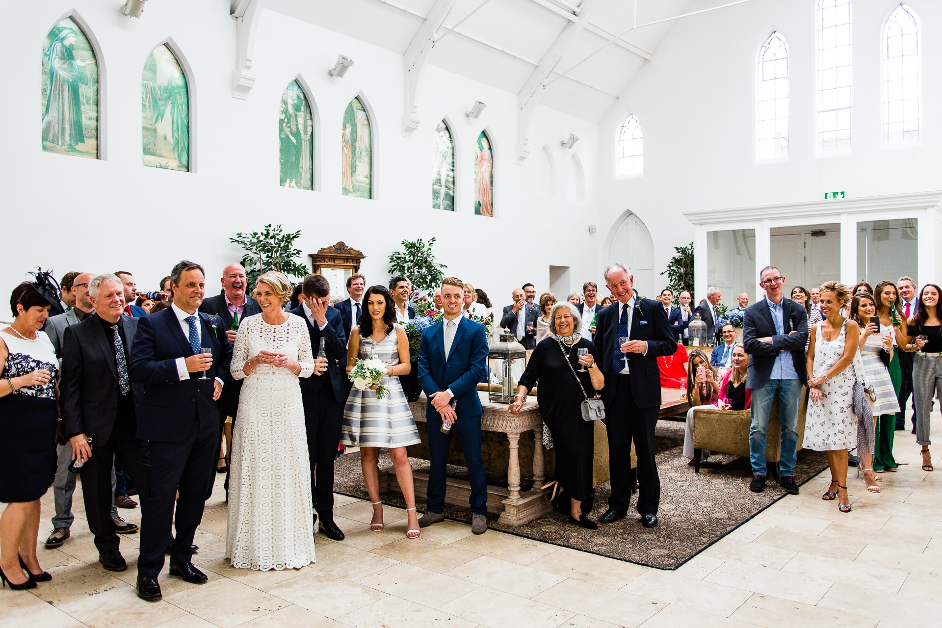 Christian & Jayne's Wedding Photography At Fazeley Studios Slider