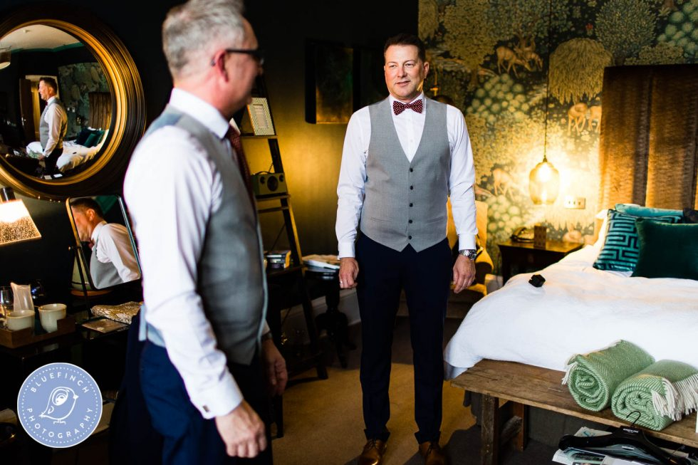 Mark & Phil's Wedding Photography at Hampton Manor