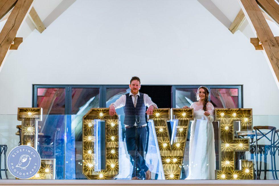 Sarah & Kevin's Wedding Photography At Mill Barns