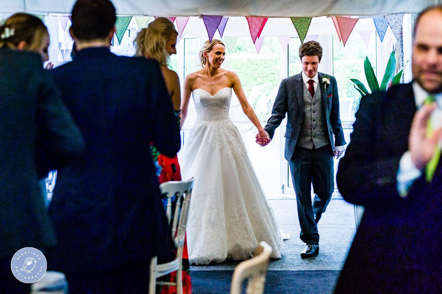 Andrew & Emma's Wedding Photography At Hampton Manor