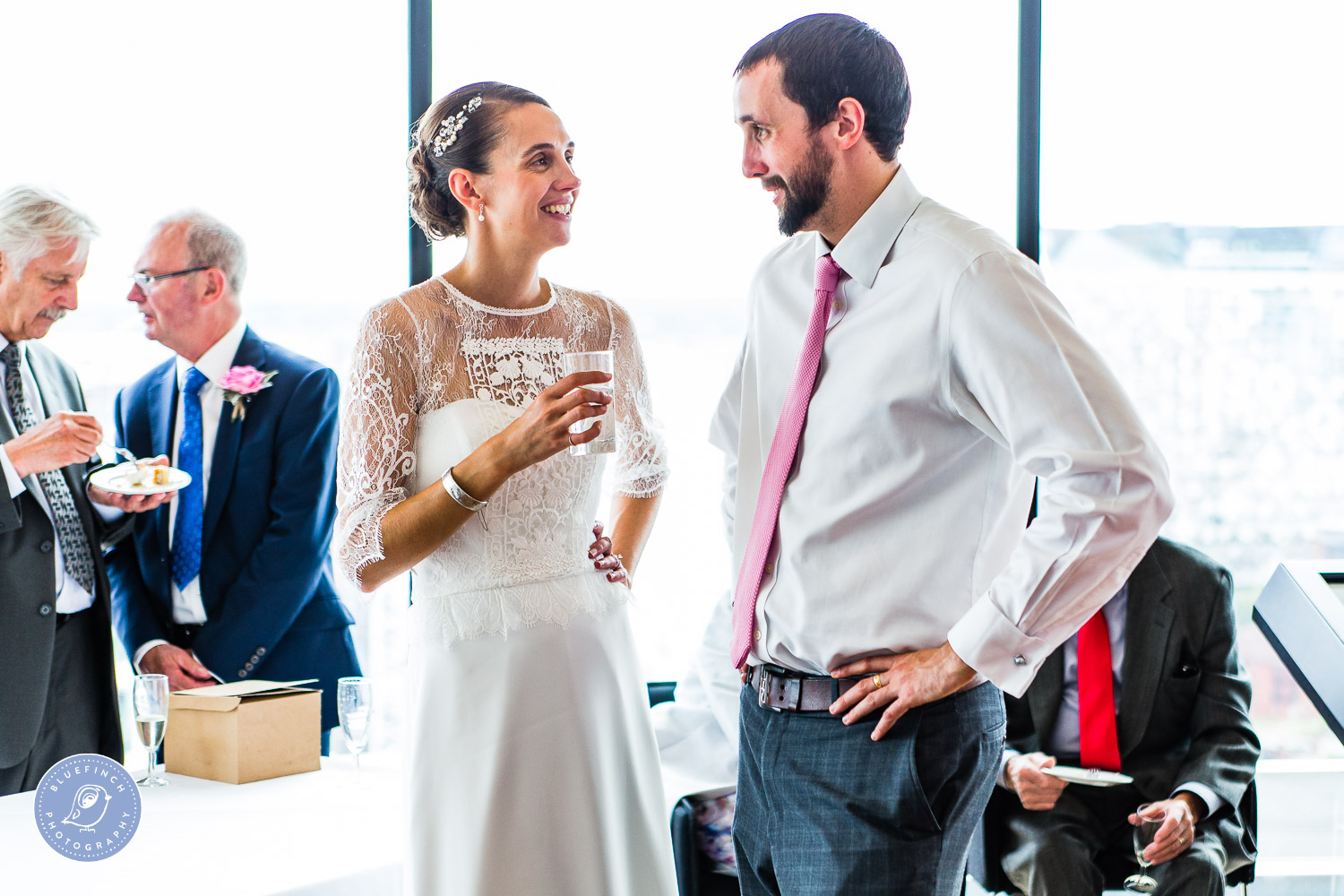 Andrew & Laura's Wedding Photography at the Library of Birmingham