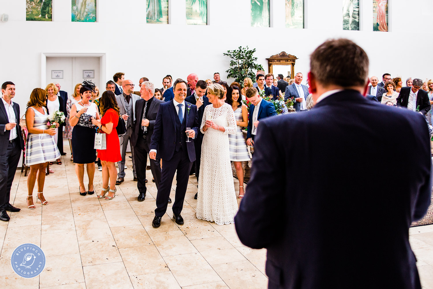 Christian & Jayne's Wedding Photography At Fazeley Studios