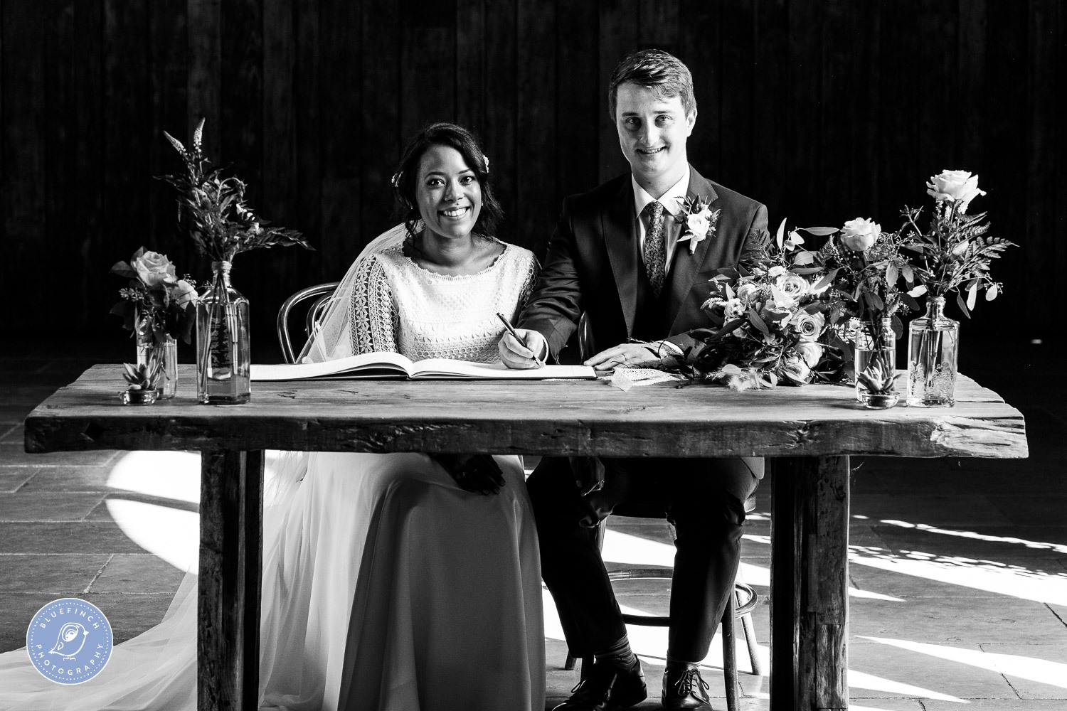 Robert & Georgia's Wedding Photography At Shustoke Barn