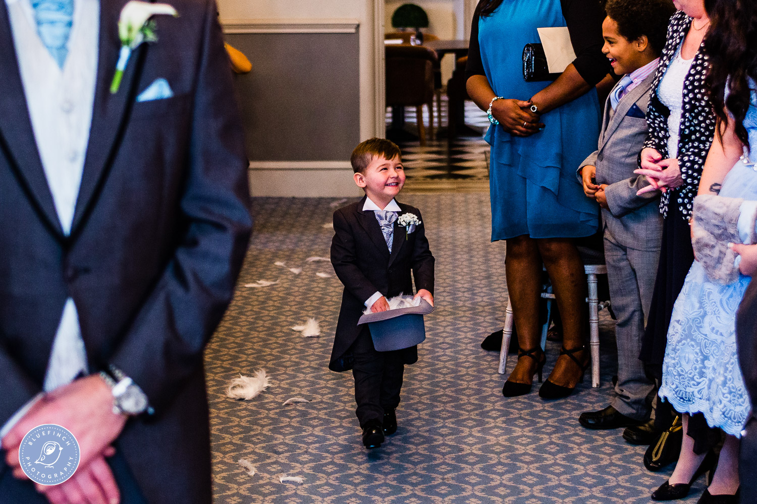 Mark & Sarah's Wedding Photography at Weston Hall