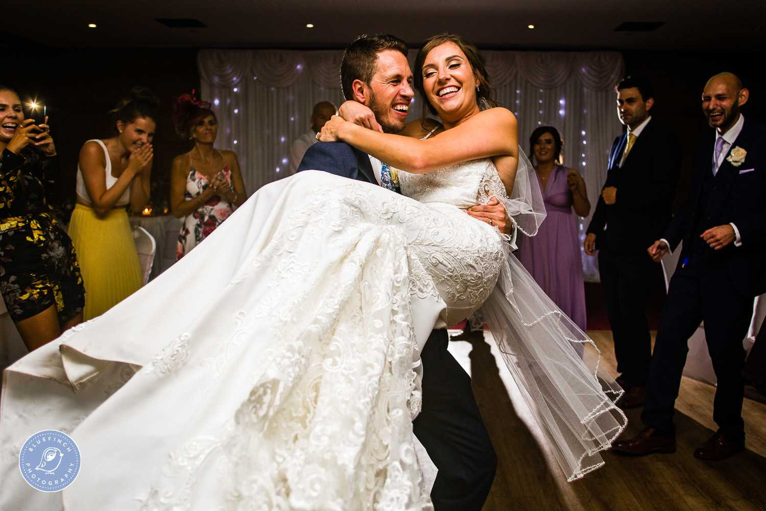Charlotte & Daniel's Wedding Photography At Castle Bromwich Hall Hotel