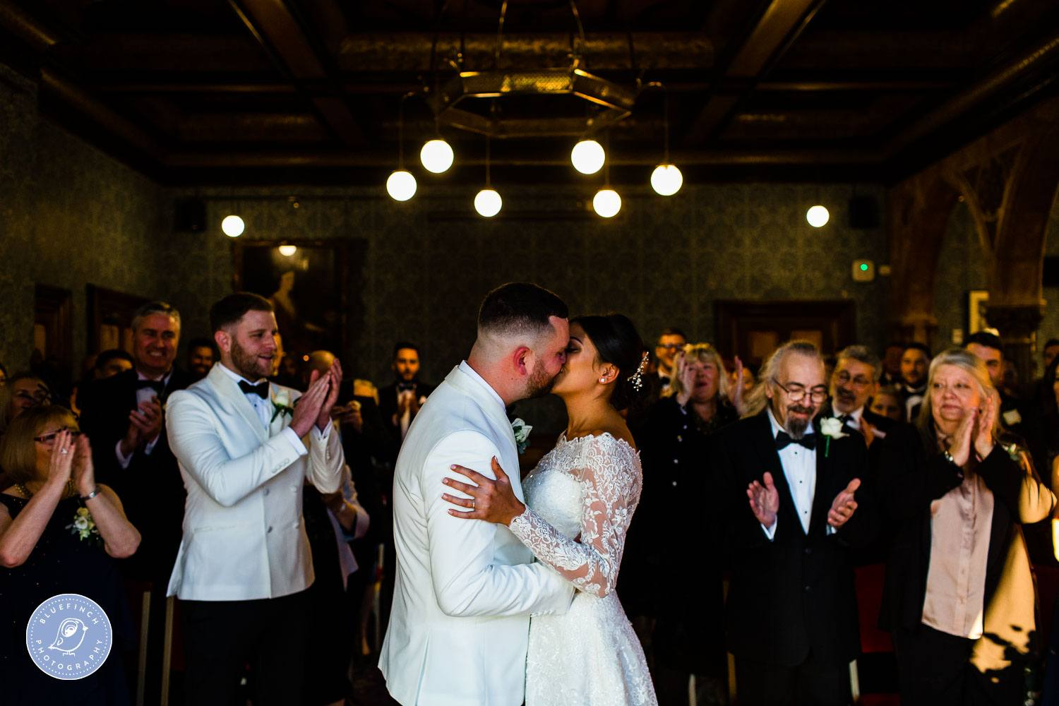 Katie and James's Wedding Photography At Highbury Hall
